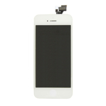 LCD Display + Touch Screen Assembly Replacement Glass for iPhone 5 -OEM -White