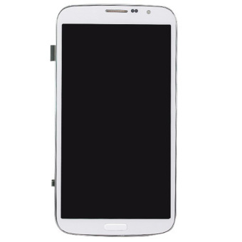 LCD Display + Touch Screen Digitizer Assembly with Frame forSamsung Galaxy Mega 6.3 / i9200 / i9205 - Black - 3
