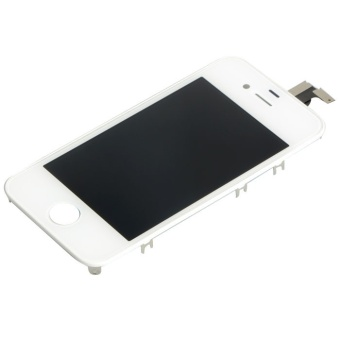 LCD Display Touch Screen Digitizer for Iphone 4S (White)- - intl