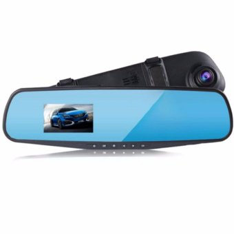 LCD HD Car Camera Dash Cam Video Recorder Rearview Mirror Vehicle DVR