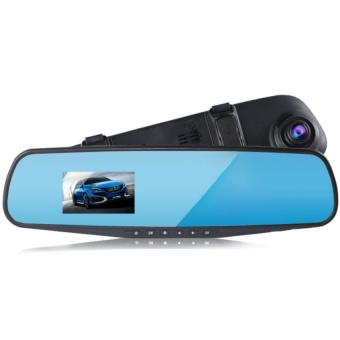 LCD HD Car Camera Dash Cam Video Recorder Rearview Mirror VehicleDVR