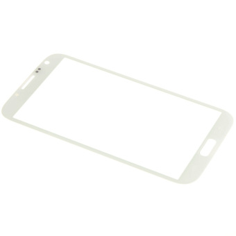 LCD Screen Lens Glass for Samsung Galaxy Note II N7100 (White)- - intl