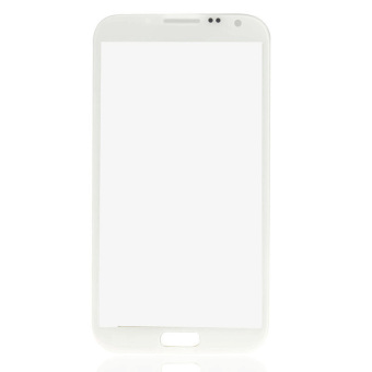 LCD Screen Lens Glass for Samsung Galaxy Note II N7100 (White)- - intl - 2