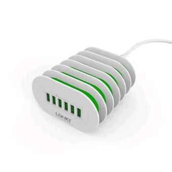 LDNIO A6702 6 USB 5V / 7.0A Quick Charge Desktop Charger