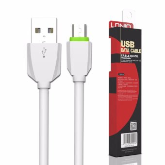 LDNIO LS07 1M Fast Charge Micro USB Cable for Android (White)