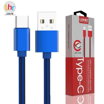 LDNIO LS60 1M Type-C USB Data Charging Cable For Mi 4C / Meizu PRO5 (Blue) Price Philippines