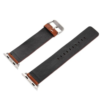 Leather Buckle Wrist Watch Band Strap Belt for Watch Apple Watch38mm - intl - 2