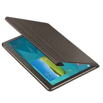 Leather Case Cover For Samsung Galaxy Tab S 10.5Inch T800+Film +Pen Brown - 3