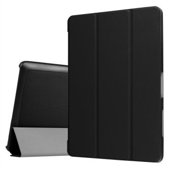 Leather Case Flip Cover For Acer Iconia One 10 B3-A30 (Black) - intl