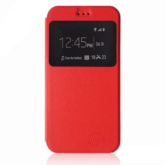 Leather Flip Cover for Huawei GR5 2017 (Red)
