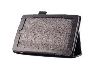 Leather Folio Stand Cover Case For Amazon Kindle Fire HDX 7 InchBlack - intl - 5