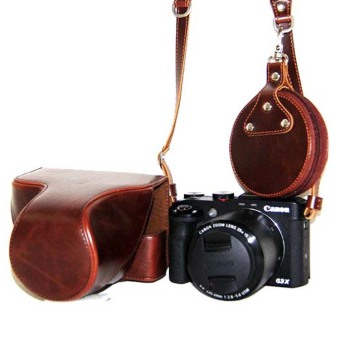 Leather portable universal type shoulder strap