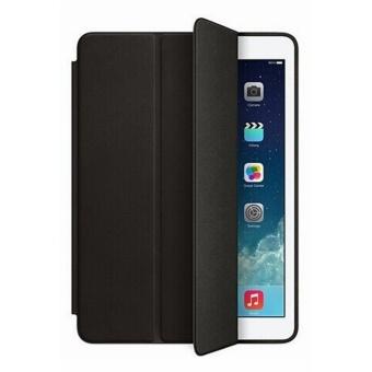Leather Smart Case For Apple iPad Mini 1/2/3 (Black) - 2