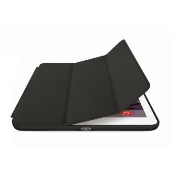 Leather Smart Case For Apple iPad Mini 1/2/3 (Black) - 4