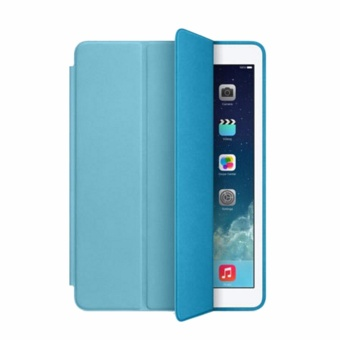 Leather Smart Case For Apple iPad Mini 1/2/3 (Blue)