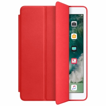 Leather Smart Case For Apple iPad Mini 1/2/3 (Red)