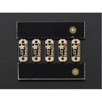 LED Sequins Adafruit Royal Blue - Pack of 5 - 3