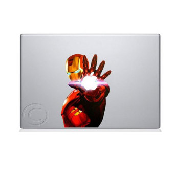 Leegoal Colofull Iron Man 2 Macbook Decal Mac Apple Skin Sticker -intl Price Philippines