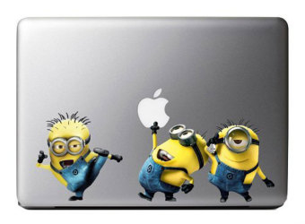 Leegoal Colorful Minions Despicable Me Vinyl Decal Stickers ArtSkin Protector For Apple Macbook Laptop - intl Price Philippines
