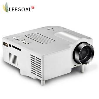 leegoalHome Theater UC28 Portable 1200lumens 1080P HD LCD HDMI USB Video Game Mini LED Projector