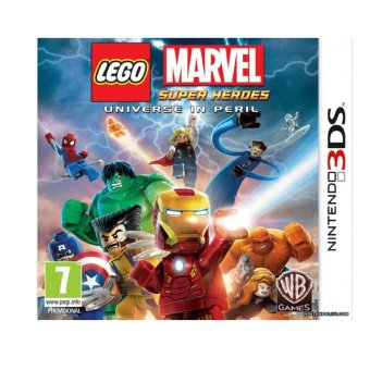 Lego Marvel Super Heroes Universe in Peril Game for Nintendo 3DS