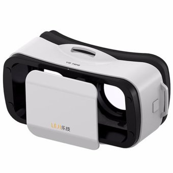 LEJI VR Mini Immersive VR BOX Virtual Reality 3D Glasses forSmartphone (White) Price Philippines
