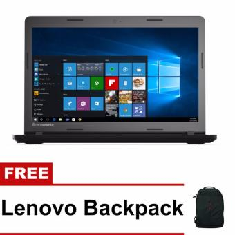 "Lenovo IdeaPad 100-14IBD 80RK0056PH 14"" Intel Core i3-5005U 4GBWindows 10 Laptop with Free Lenovo Backpack Price Philippines"