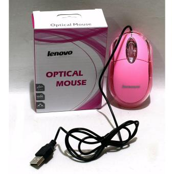 LENOVO Optical Usb Wired 1200dpi Mouse Mice For Pc and laptop
