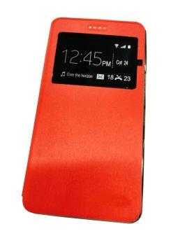Lenovo Smart View Flip PU Leather Case for Lenovo K910 (Red)