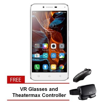 Lenovo Vibe K5 Plus (Platinum Silver) with Free VR Glasses and Theatermax Controller