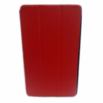 Lepards Trifold Leather Case for Huawei MediaPad M3 8.4 (Red)