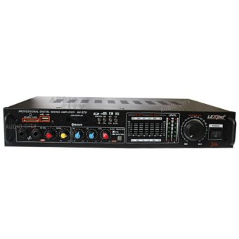 Lexing AV-270 Stereo Mixing Power Amplifier with Equalizer and Bluetooth (Black)