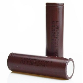 LG-HG2 18650 3000mAh Flat Top Rechargeable Battery (Choco) Set of 2