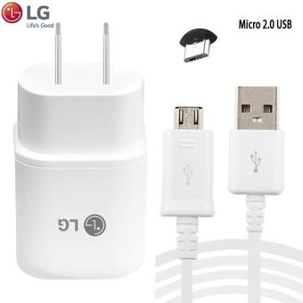 LG Original Fast Charger 1.8A For LG G3 / G4 (H819) w/ USB Micro2.0 Price Philippines