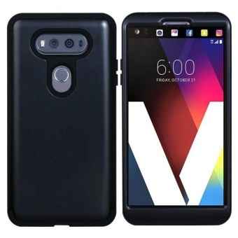 LG V20 Case, Heavy Duty High Impact Defense Shield Hard PC OuterShell with Inner Soft Rubber Hybrid 3 in 1 Combo Full-body ArmorProtective Case - intl