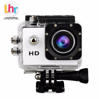 LHR A7 1080p Waterproof Sports Action Camera (White)