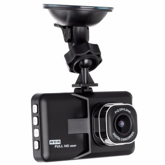 LHR B03 1080p Full HD WDR 170 Degree Digital Car Dash Camera Recorder (Black)