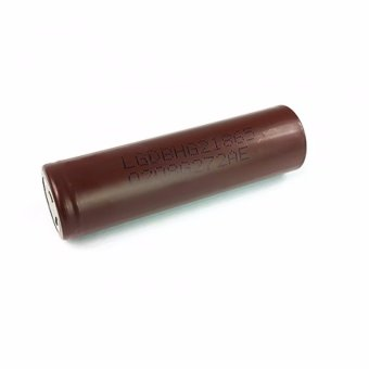 LHR Li-ion 18650 3000mAh 3.7V Battery For Electronic Cigarette (Brown) Set of 2 - 2