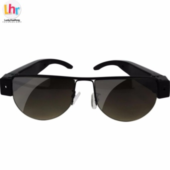 LHR SM12 5MP Video Recording Eyewear Sunglasses (Black/Brown) Price Philippines
