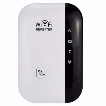 LHR Wireless-N Wifi Repeater 300 Mbps Extender Network Router Booster (White)