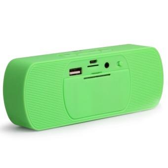 LHR Y8 Portable Super Bass Stereo Bluetooth 2.1 Wireless Speaker (Green) - 4