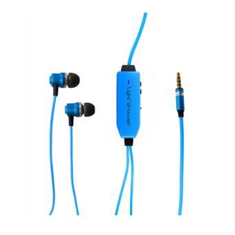LightGrooves EP-101 In-Ear Headphones (Blue)