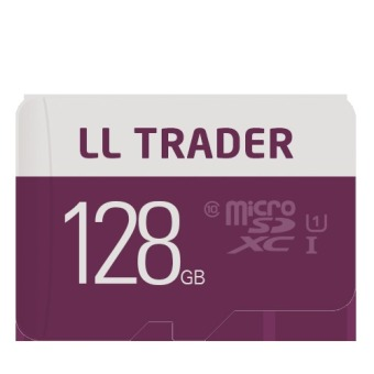 LLTrader Microsd 128GB UHS-1 Micro SD Card Class 10 Flash Card Real Capacity Memory Card 128GB for Smartphone/Tablet