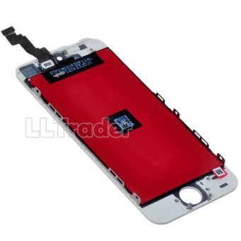 LLTRADER White LCD Display+Touch Screen Digitizer AssemblyReplacement for iPhone 5S +free tools - intl