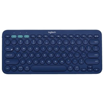 Logitech K380 Multi-Device Wireless Bluetooth Keyboard (Blue)