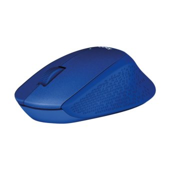 Logitech M331 Silent Plus Wireless Mouse (Blue)