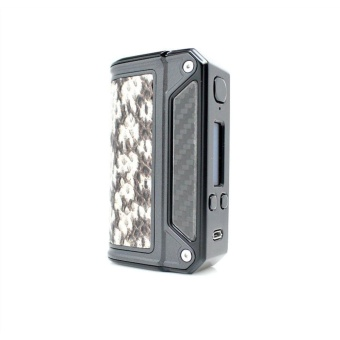 Lost Vape Therion DNA 166W Box Mod White GRAY_Snake_shin