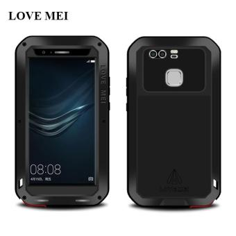 LOVE MEI Brand Metal Case Cover For Huawei P9 (5.2 inch) AluminumPowerful Shockproof Waterproof Case For Huawei Ascend P9 Shell -intl