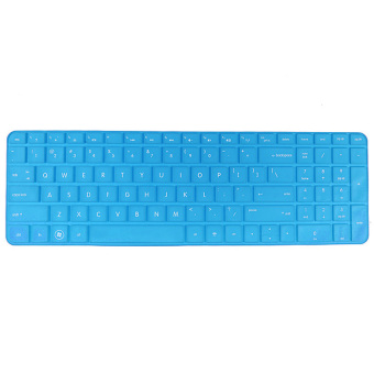 Lucky Silicone Anti-dust Keyboard Cover Skin Protector for HPPavilion New DV6 Series (Blue) - intl