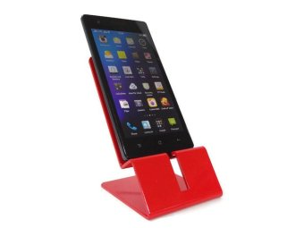 Lufata Cellphone CP Stand Sheet Metal Art For Smart Phone GadgetUniversal CS001 (Red) Price Philippines